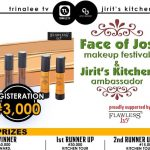 Contest Face of Jos MakeUp Festival and WIN BIG | See Details